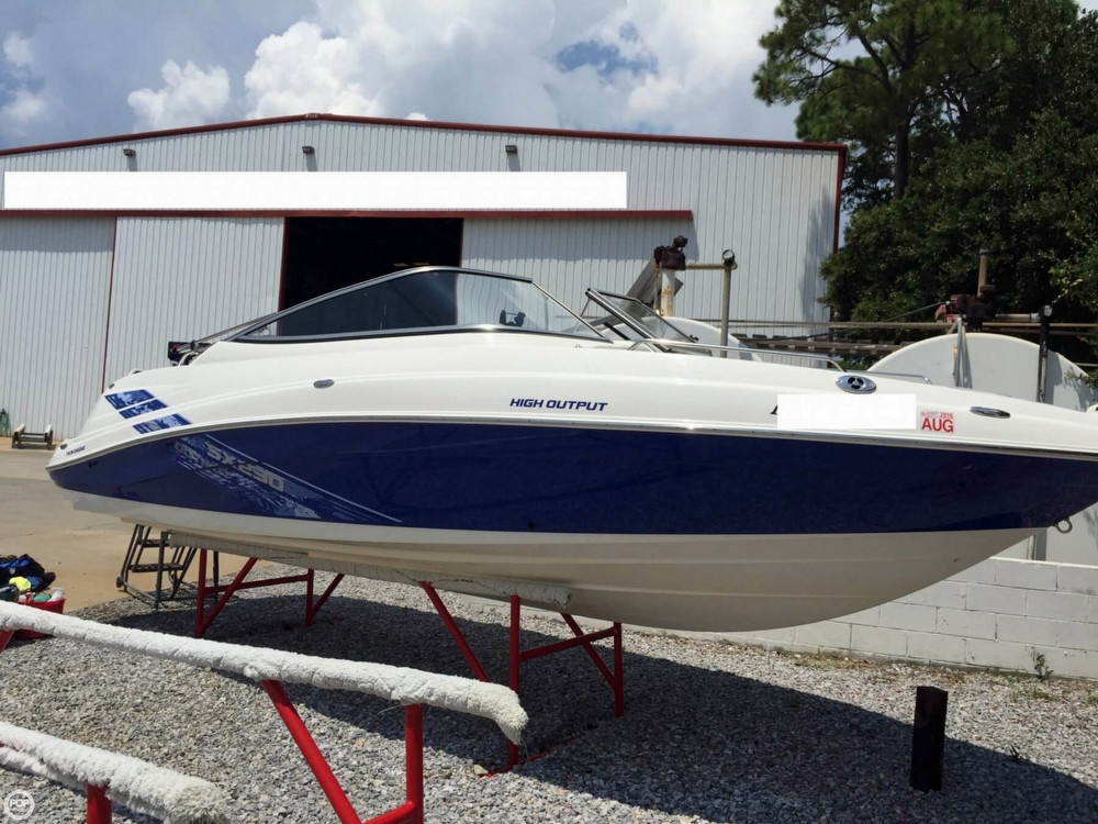 2009 used yamaha sx230 high output jet boat for sale for Yamaha jet boat for sale florida