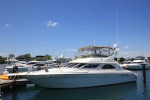 Used Sea Ray 440 Express Bridge Flybridge Boat For Sale