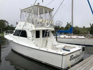 Used Henriques 38 Sportfisherman Saltwater Fishing Boat For Sale