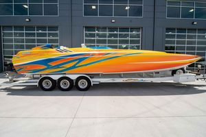 Used Skater 32A Power Catamaran Boat For Sale