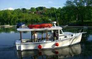 Used Ellis 28 Lobster Yacht Commercial Boat For Sale