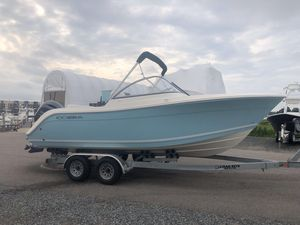 New Cobia 220 Dual Console Cruiser Boat For Sale