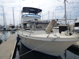 Used Uniflite 38 Sportsfisher Sports Fishing Boat For Sale