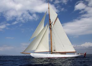 Used Camper & Nicholsons Gaff Cutter Antique and Classic Sailboat For Sale