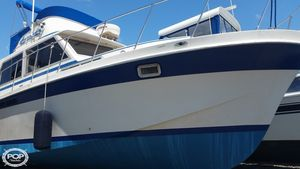 Used Uniflite 36 Double Cabin Cruiser Boat For Sale