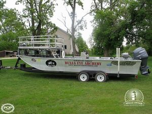 Used Riverman Custom 24 Bowfisher Aluminum Fishing Boat For Sale