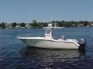 Used Tidewater 250cc Center Console Fishing Boat For Sale