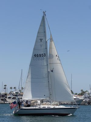 Used Ericson 380 Pacific Seacraft Racer and Cruiser Sailboat For Sale