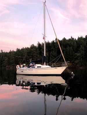Used Mirage 27 Racer and Cruiser Sailboat For Sale