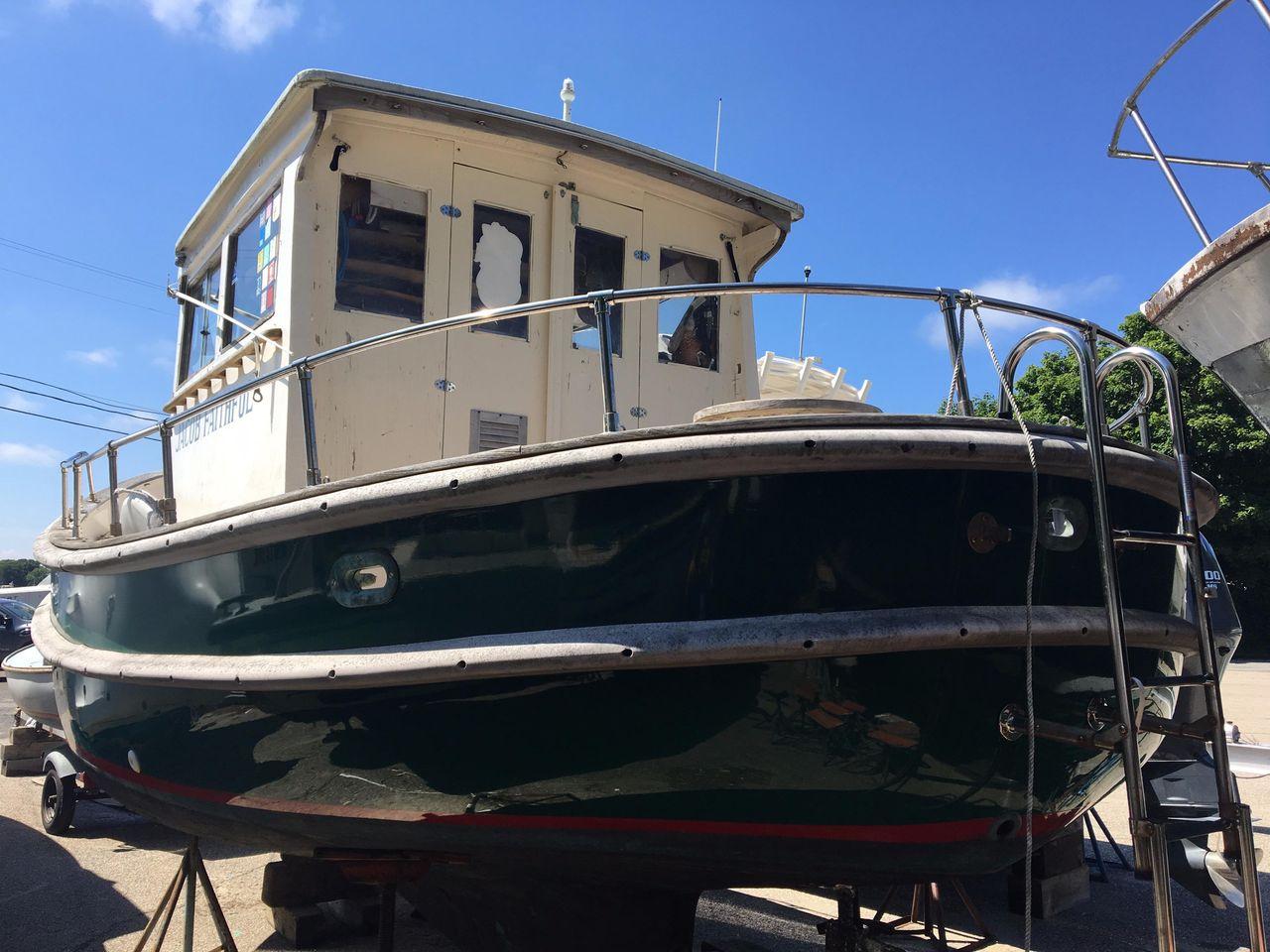 1972 Used Tugboat 21 Tug Boat For Sale - $11,900 ...