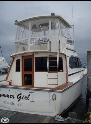 Used Egg Harbor 37 Sports Fishing Boat For Sale