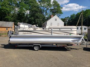 Used Sweetwater 2186re Pontoon Boat For Sale