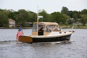 Used Dyer 29 Trunk Cabin Soft Top Cruiser Boat For Sale