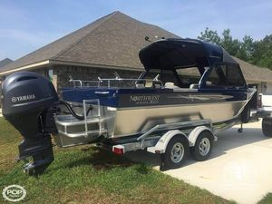Used Northwest 208 Seastar Aluminum Fishing Boat For Sale