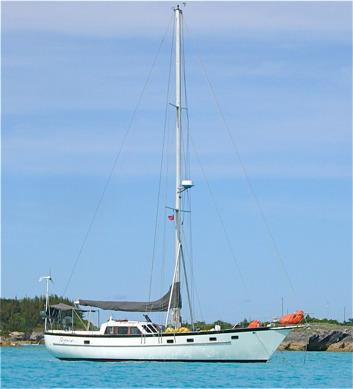 Used Brewer 46 Cruiser Sailboat For Sale
