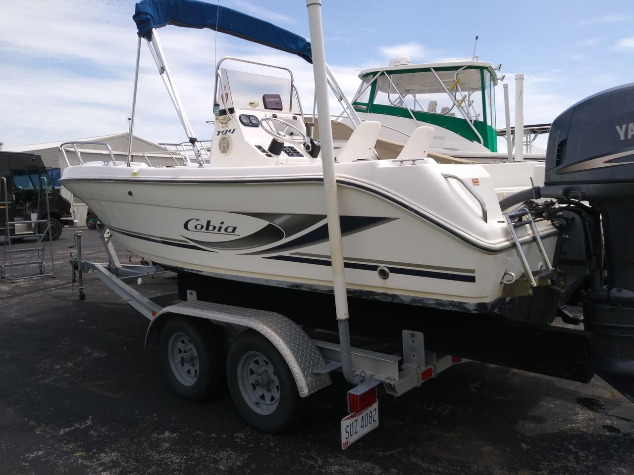Used Fishing Boats For Sale >> 2003 Used Cobia 194 Center Console Center Console Fishing Boat For