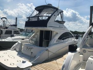 Used Sea Ray 360 Flybridge Sports Cruiser Boat For Sale