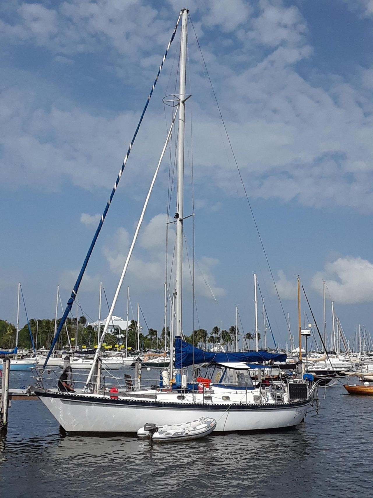1983 Used Tayana Vancouver Center pit Center pit ... Vancouver Sailboat Wiring Diagram on