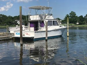 Used Uniflite 42 Convertible Fishing Boat For Sale