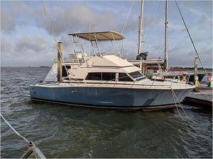 Used Bertram Sport Fisherman Flybridge Boat For Sale