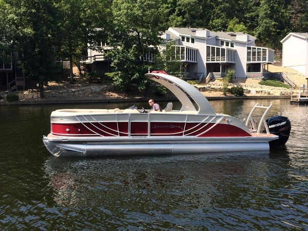 New South Bay 724 Sport Deluxe 30 Pontoon Boat For Sale
