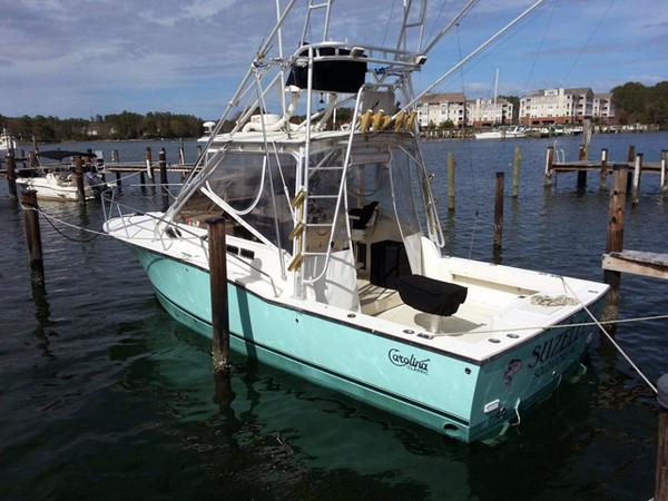 Used Carolina Classic Express Sports Fishing Boat For Sale