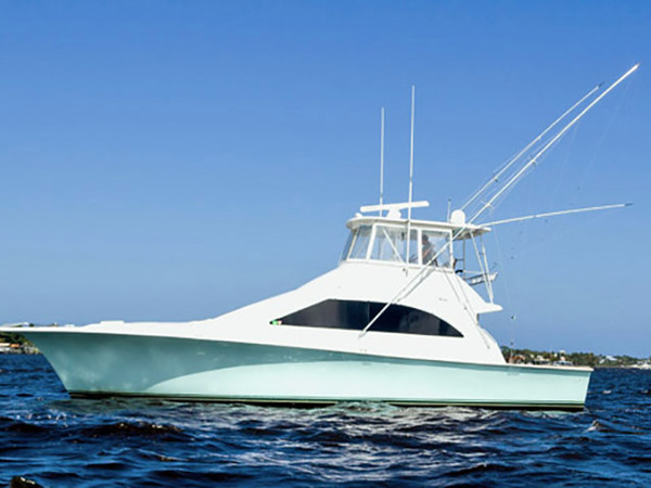 2000 used ocean 48 super sport sports fishing boat for for Ocean yachts 48 motor yacht for sale