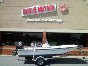Used Mckee Craft Classic 16 Center Console Fishing Boat For Sale