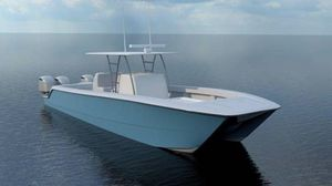 New Invincible 35' Catamaran Center Console Fishing Boat For Sale