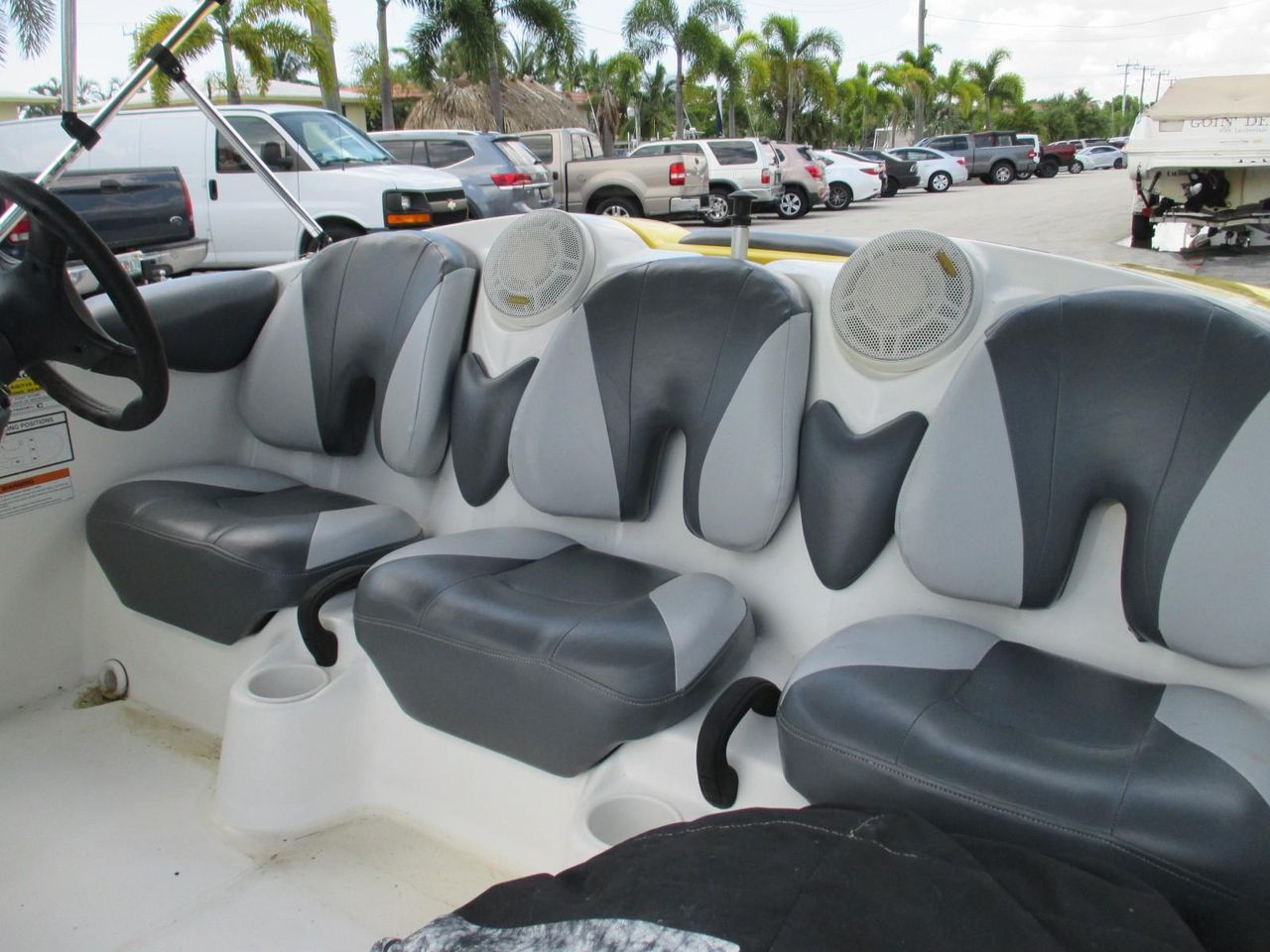 2008 Used Sea-Doo Speedster High Performance Boat For Sale