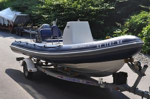 Used Ribcraft 5.85 Center Console Fishing Boat For Sale