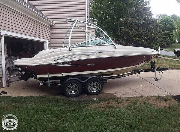 Used Sea Ray 200 Sun Deck Ski and Wakeboard Boat For Sale