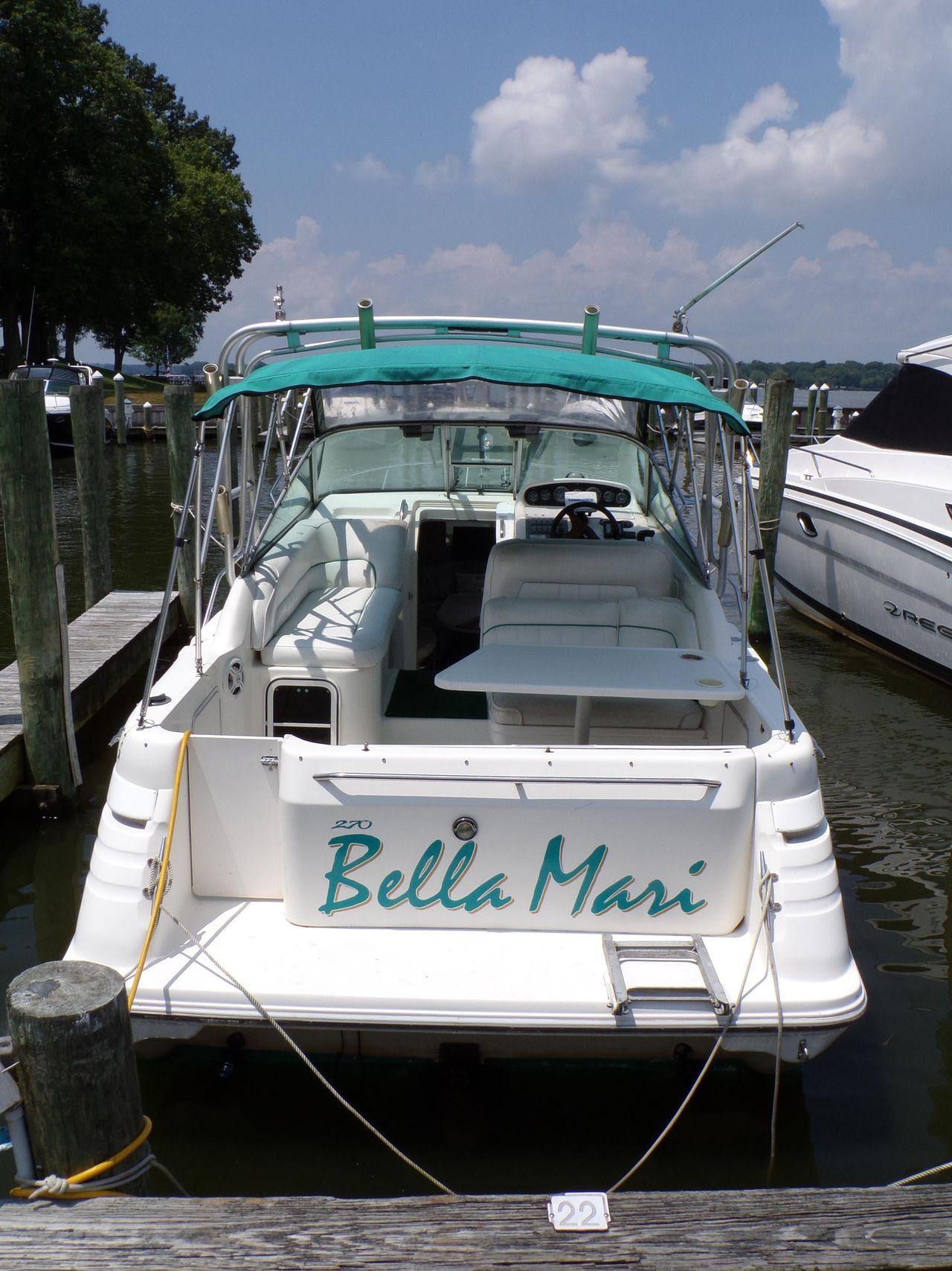1994 Used Sea Ray Sundancer Cruiser Boat For Sale - $14,500