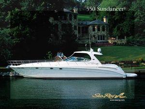Used Sea Ray 550 Sundancer Motor Yacht For Sale