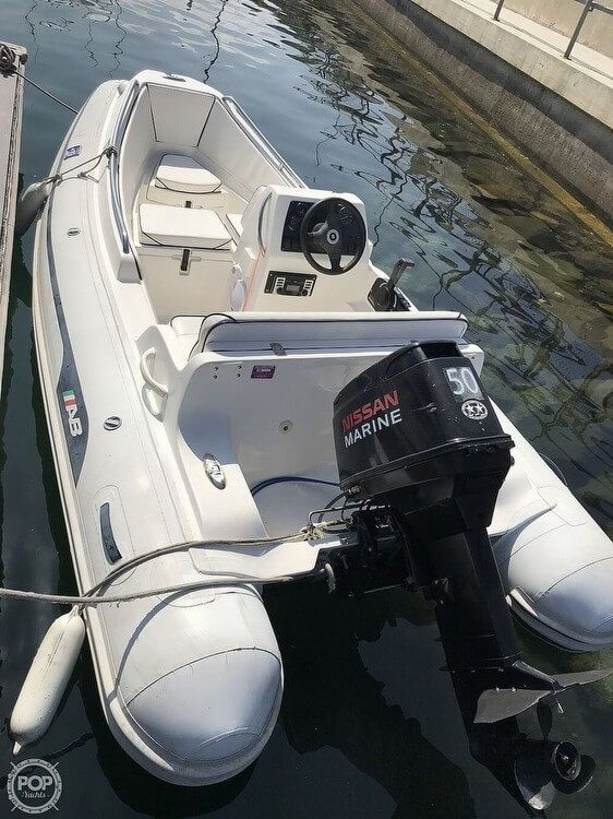Used Ab Inflatables 13DLX Cruiser Boat For Sale