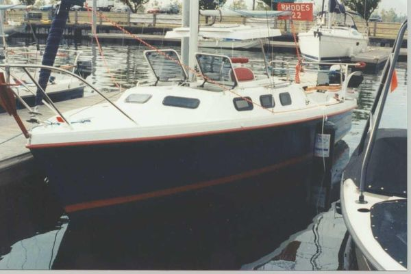 Used Rhodes 22 Cruiser Sailboat For Sale