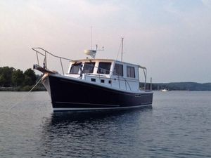 Used Downeast Duffy Style Commercial Boat For Sale