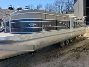 Used Manitou Ses25vptt Pontoon Boat For Sale