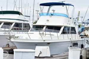 Used Uniflite 36 Double Cabin Trawler Boat For Sale