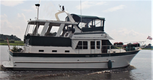 Used Marine Trader CPMY Troller Fishing Boat For Sale