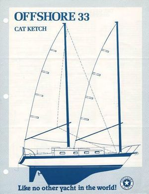 Used Offshore 33 Cat-ketch Cruiser Sailboat For Sale