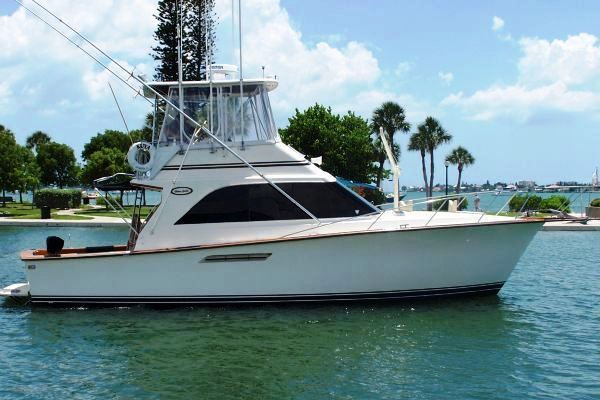 Used Ocean 38 Super Sport Saltwater Fishing Boat For Sale