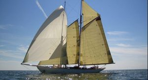 Used Classic Sailing Schooner Gaff Rigged Antique and Classic Boat For Sale