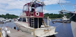 Used Trojan 36 Convertible Fishing Boat For Sale