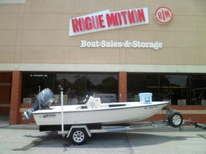 Used Hewes Redfisher 16' Saltwater Fishing Boat For Sale