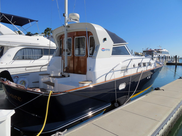 Used Linssen 45DS Express Cruiser Boat For Sale