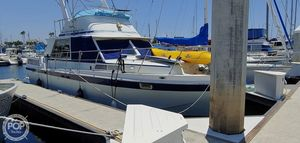 Used Uniflite 36 Double Cabin Sports Fishing Boat For Sale