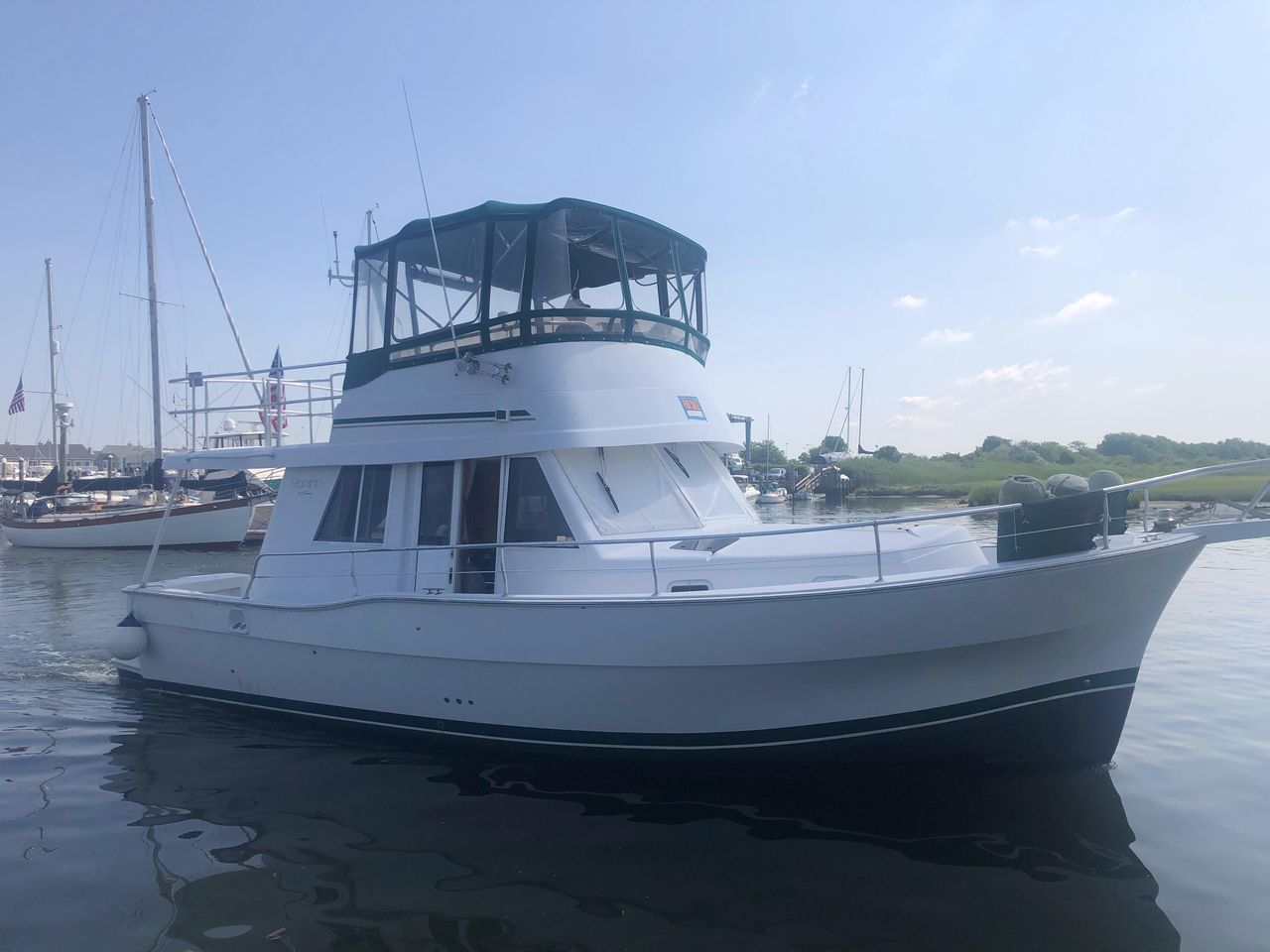 1998 Used Mainship 350 Trawler Boat For Sale - $115,000