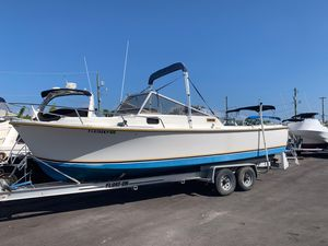 Used Shamrock 260 Predator Trawler Boat For Sale