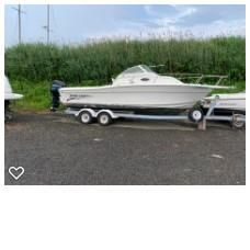 Used Sportcraft 241 Sports Fishing Boat For Sale
